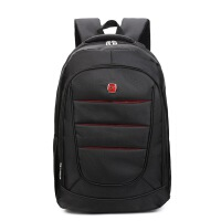 2018新款电脑包双肩牛津布商务双肩背包男士定制大容量笔记本电脑包 17寸