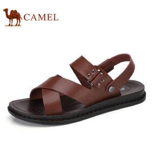 camel骆驼男鞋  夏季新品 日常休闲男鞋凉鞋露趾沙滩凉鞋