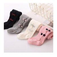 女童打底裤袜婴儿连裤袜棉质女宝宝连体袜