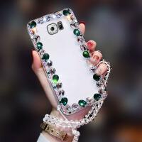 5.5寸三星S7e手机壳SM-G9350曲屏Galaxy s7egde水钻g935A潮女3星s7eg