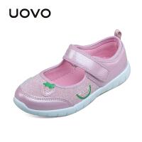 【抢10元券即可满199减100】UOVO 2017新款童鞋春夏季儿童休闲鞋中大女童鞋 安妮尔
