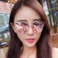 户外墨镜女潮时尚眼镜 偏光太阳镜女士圆脸复古眼镜 支持礼品卡支付