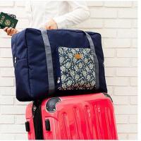 便携出差旅行可折叠大容量行李箱收纳袋涤纶防水衣物收纳包女手提包 可礼品卡支付
