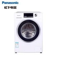 松下(Panasonic) XQG80-E8625 8KG 全自�蛹矣� �L筒��l �能�o音洗�一�w�L筒洗衣�C(�y色)