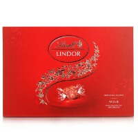 瑞士进口 瑞士莲 软心牛奶巧克力 22粒装礼盒264g