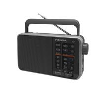 熊猫/PANDA T-13三波段便携式指针式半导体收音机老人调频广播