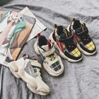 秋季儿童保暖运动鞋男童棉鞋女童加绒棉休闲鞋