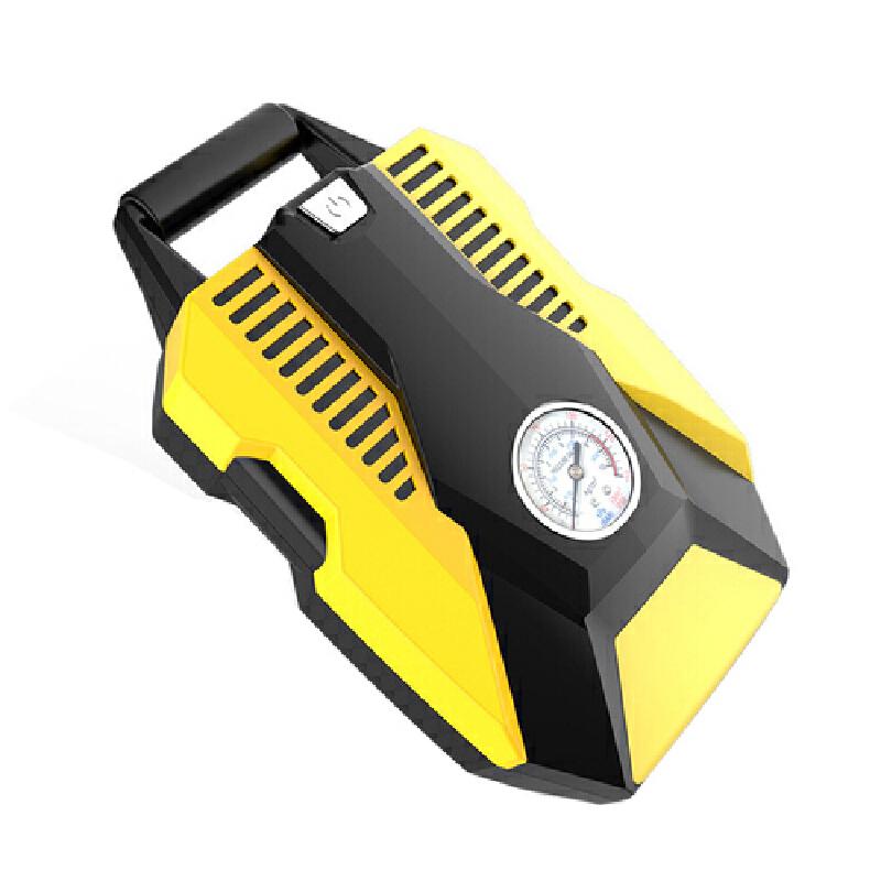 车载充气泵 汽车打气泵数显12v便携式轮胎打气筒智能补胎充气