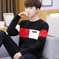男士毛衣针织长袖T恤韩版修身打底衫休闲外穿上衣服潮流秋季男装