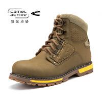 骆驼动感/Camel Active冬季男士越野高帮靴男士大头工装靴男士马丁靴