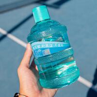 水杯 创意矿泉水瓶迷你水桶塑料杯2019新款夏季女学生便携大容量水壶防漏随手杯