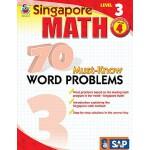 【预订】70 Must-Know Word Problems, Grade 4