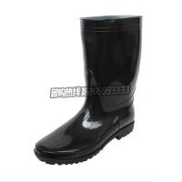大码男款中筒高筒雨靴劳保雨鞋水鞋套鞋胶鞋高筒雨鞋 男款水鞋雨靴劳保鞋中筒防水鞋