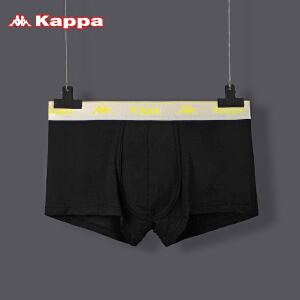 Kappa/卡帕男士内裤莫代尔舒适平角中腰 KP8K12