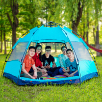 御目 帐篷 全自动大帐篷户外二室一厅3-4人家庭5-8人6-9人2人单人野外露营满额减限时抢礼品卡创意家具