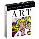 【现货】英文原版 2020年画廊日历:艺术 进口台历 办公室桌面摆件(亚克力) 精美装帧 新年礼物 Art Page-