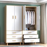 【爆款】简易衣柜家用卧室现代简约经济型衣橱储物柜子出租房用挂衣柜组装