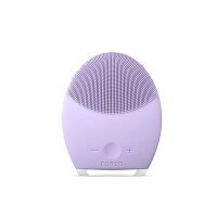 FOREO洁面仪 LUNA第二代露娜电动充电洁面仪毛孔清洁器硅胶美容仪洗脸刷 紫色