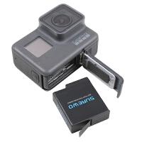 电池充电电池 黑狗7运动相机配件