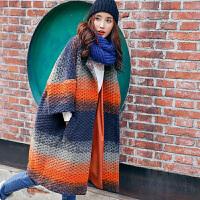 裂帛女装2016冬立体肌理羊毛呢大衣宽松落肩袖毛呢外套女