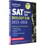 【英文原版】Kaplan SAT Subject Test Biology E/M 卡普兰 SAT 考试科目生物学 2