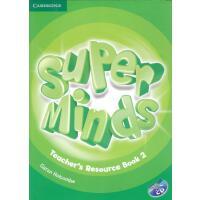 英音版剑桥小学英语教材 Super Minds Level 2 Teacher's Resource Book with Audio CD 教师资源手册