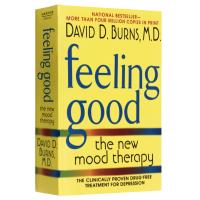 伯恩斯新情绪疗法 英文原版心理学书籍 Feeling Good 非药物治愈抑郁症疗法 抗抑郁经典读物 正版进口英语书