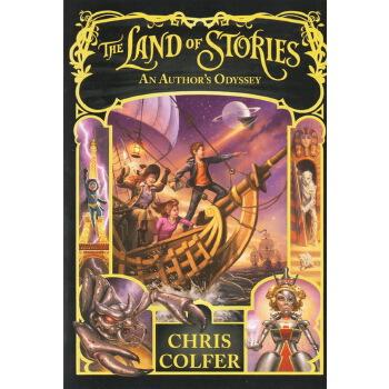 异世界童话之旅5幻境之战 英文原版小说青少年 The Land of Stories An Author's Odyssey 奥德赛 故事之地 全美教育出版物金奖