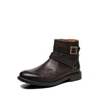 Clarks/其乐男鞋2017秋冬新款时尚休闲短靴Faulkner Top专柜正品直邮