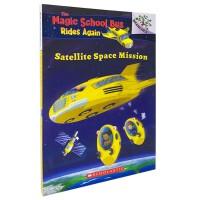 进口原版 SATELLITE SPACE MISSION 神奇校车归来:卫星太空任务[7-10岁]