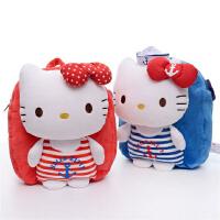 新款 澳捷尔正版海军Hello kitty双肩包 背包儿童书包
