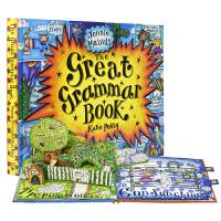 The Great Grammar Book 互动趣味语法书 6-12岁 立体机关英语翻翻书 儿童英文原版图书进口
