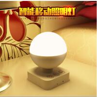 银之优品 LED小夜灯创意婴儿喂奶灯卧室床头氛围灯睡眠夜光灯遥控款黄光