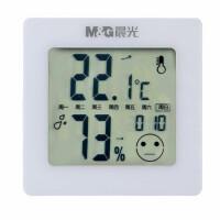 晨光电子温湿度计闹钟 C92572婴儿房室内温湿度表 家用电子表 1个