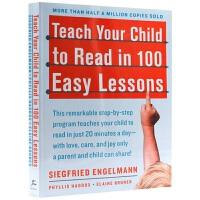 华研原版 轻松100课教会孩子阅读英文 英文原版 Teach Your Child to Read in 100 Ea