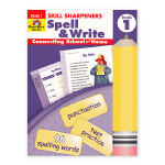 Evan-Moor Skill Sharpeners Spell & Write Grade 1 小学一年级英语拼写练
