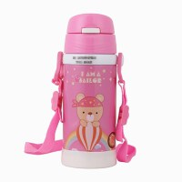 杯具用水壶小孩女童宝贝水杯吸管杯 儿童 防摔 宝宝小公主保温喝