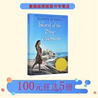 Island of the Blue Dolphins 英文原版 蓝色海豚岛 纽伯瑞金奖 青少年小说