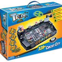 香港Tronex儿童stem科学实验套装科技小制作科普科教益智玩具8-12岁男孩电动电路diy拼装电科学328合1整套