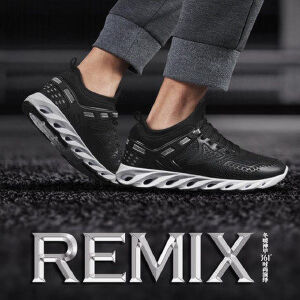 【每满100减50】361度男鞋2017秋季新款运动鞋361轻便跑步鞋男士休闲鞋571646710C