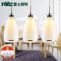 NVC 雷士照明 餐厅餐吊灯具 卧室三头吊线创意个性吧台灯