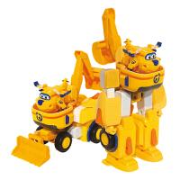 奥迪双钻 超级飞侠公仔玩偶 儿童玩具 变形机器人套装 工具车 多多