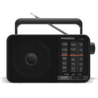 熊猫/PANDA T-15三波段便携式指针式半导体收音机老人调频广播