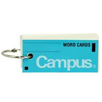 日本国誉新品KOKUYO单词卡片本TAN-101B空白Campus单圈便携本