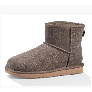【香港现货】UGG女士雪地靴经典系列迷你雪地靴靴1013984专柜正品直邮