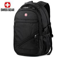 SWISSGEAR双肩电脑包15.6英寸 商务背包男士休闲旅行包学生书包