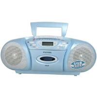 熊猫(PANDA) 6608台式复读机台式复读收录机磁带复读机u盘MP3播放器播放机插卡英语学习机