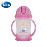 迪士尼正品PP塑料杯 萌动双柄学饮杯 儿童创意安全奶瓶