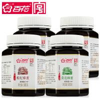 百花 枸杞 黄连 益母 苹果蜂蜜套餐580g*4瓶 43波美度 中华老字号