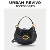 URBAN REVIVO2020冬季新品女士配件�{�~�y手提包袋AA46TB1N2000